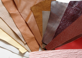 Leather Scraps 25oz Color Lot