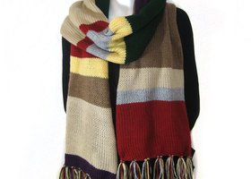 Doctor Who Scarf Super Long Over 7ft Long
