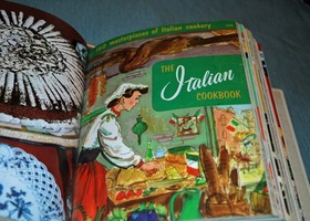 Vintage 50's/60's Cooking Magic Cookbooks