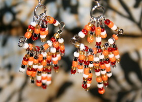 Venetian Sunrise Earrings