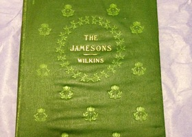 RARE Illustraed 1899 Novel The Jamesons
