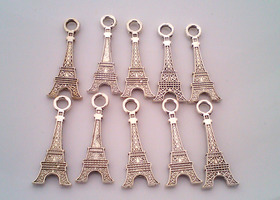 10+ Eiffel Tower Charms