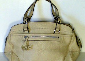 Coach Hampton Leather Satchel - Pre Loved