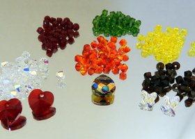 200 Pc 4mm-6mm Swarovski The Autumn/Fall Collection