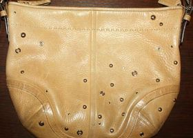 Coach Soho Studded Pebb. Leather Slouchy Bag