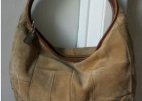 Coach Pre-Loved Suede Hobo