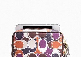 New Coach Ashley Scarf Multi Pouch