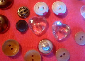 111 Buttons for crafts and more!