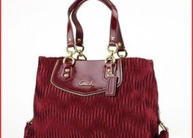 Coach F20050 Ashley Gathered  Bag