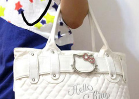 New Hello Kitty Fashion Bag~2 Free Gifts!