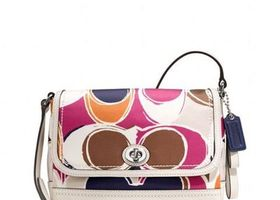 COACH F24026 Violet Crossbody