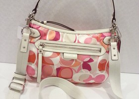 Authentic Coach Daisy Kaleidoscope Crossbody