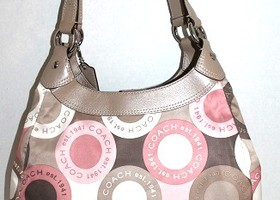 Coach Sateen Soho Snaphead Hobo 18441