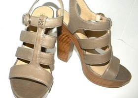 Coach Catarina Stacked Heel Platform Sandals Size 7.5B