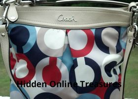 Brand New Ashley Op Art swingpack F23930