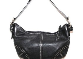 Coach Soho Black Leather Hobo 9541