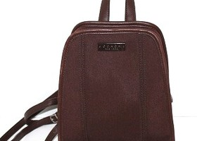 Coach Brown Neoprene Back Pack 6215