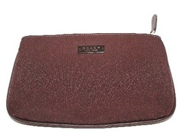 Coach Brown Neoprene Cosmetic Case 6283