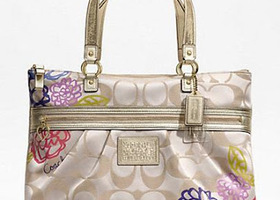 Coach Daisy Applique Tote F20794