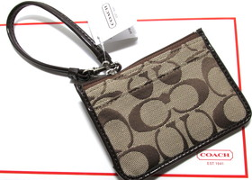 Authentic Coach Park Signature ID Skinny