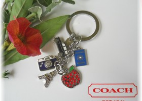 Coach Travel Mix Keychain  62733
