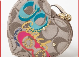 Coach F62066 Daisy Pop Coin Purse