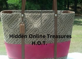 Signature Handbag Tote  Medium Size