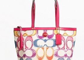 New Coach Scribble Tote bag