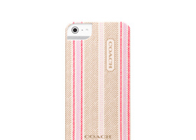 Coach Legacy Weekend Ticking iPhone 5 Case