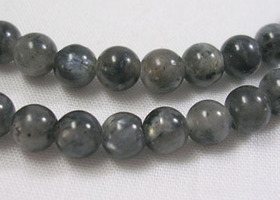 90 Norwegian Labradorite 4mm round beads