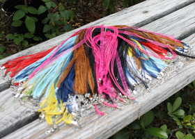 Lot 20 Organza Ribbon Necklaces