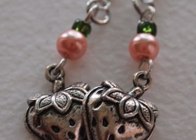 Cute Straberry Shortcake Earrings