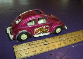 Vintage Tootsie Toy Volkswagen Stingin Bug Metal Car