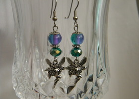 Enchanted fairy  earrings