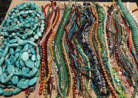 Premium Drilled Gemstone Bead Lot get 200 Or More