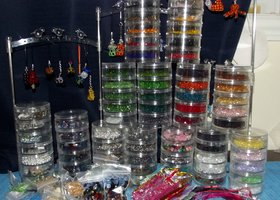 Surprise Supplies Box - Crystal Beads, Pendants, Findings and More