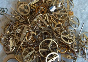 150 + Steampunk Watch Gears and Parts
