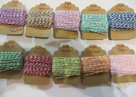 100 yards of Sample Twine...Custom Colors