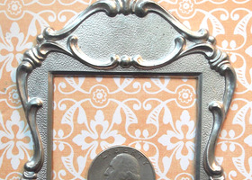 3x5 Art Deco Metal Frame