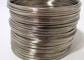 100 Loops 1 continuous piece Silver Memory Wire .6mm