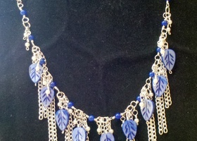 Multiple Chain Dangle Necklace