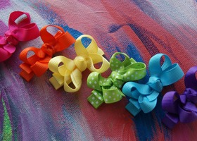 Brights Mini Boutique Bows