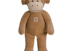 "Organic Plush Toy - 11"" Fred The Monkey"