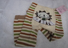 Toddler sweater knit leggings