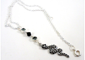 Crystal Snake Necklace - BONUS OFFER