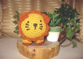 Crochet Lion Plushy