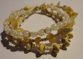 Beachy Multi-Strand Hemp Bracelet