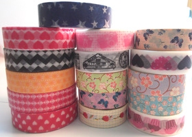 4 Washi Tape Rolls - Random Selection