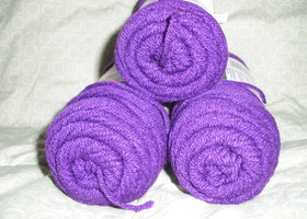 Lot of Acrylic Yarn - Red Heart Classic - Purple