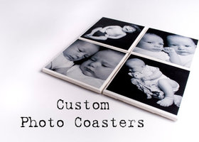 Personalized Custom Coaster Set